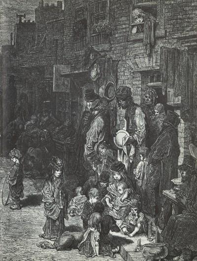 AnEngravingofLondon'sPoor- Gustave Dore, Cropped copy