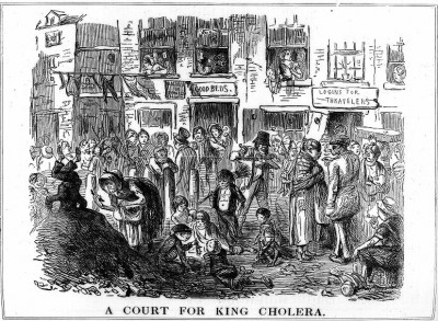Cholera, 1852 from Punch copy